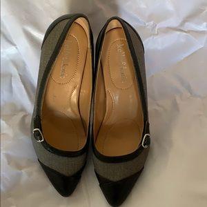 Black & Navy Heels
